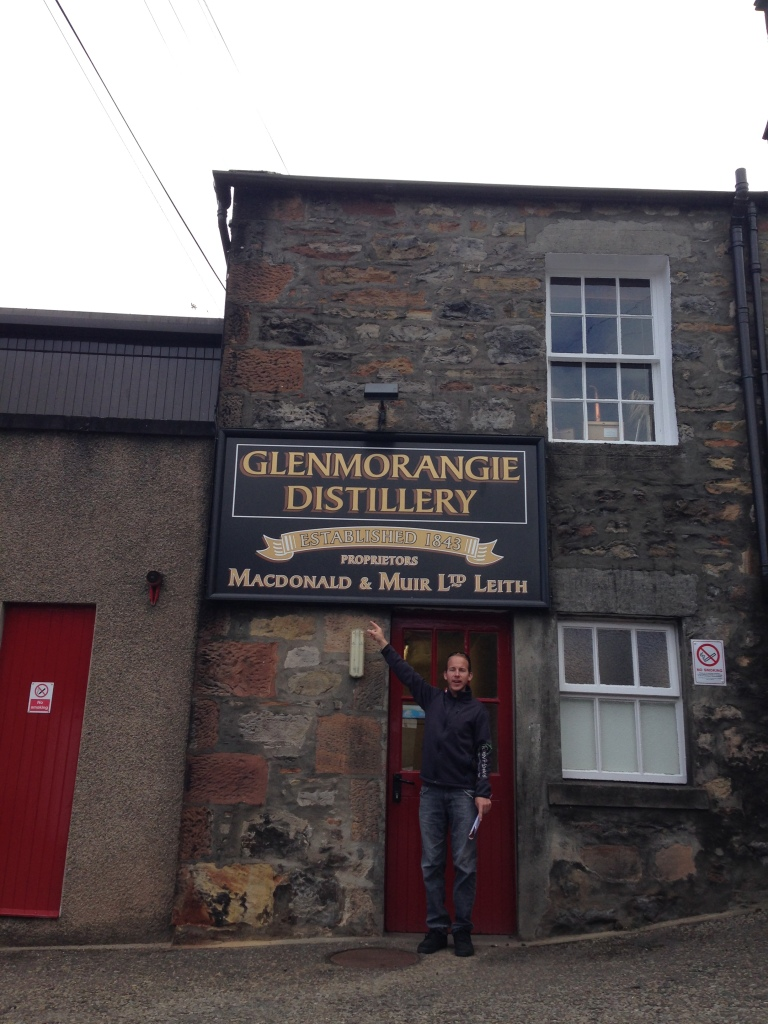 Visite de la distillerie Glenmorangie